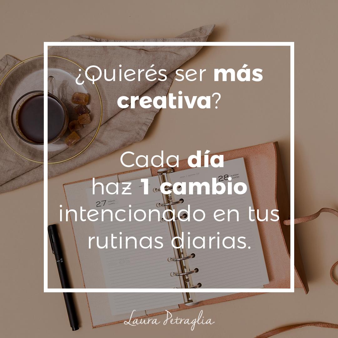¿Quieres ser mas creativa?